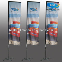 Custom fabric wholesale wind flying flag,knife flags
