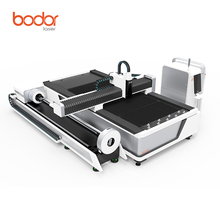 Bodor 2017 1530 1000w IPG rotary fiber laser cutting machine stainless steel cutter/new steel tube cutter