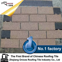 ONICES Fiberglass Asphalt shingle, construction companies stone coated metal roof tile