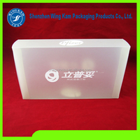 Disposable Feature and PVC Plastic Type zippo lighter folding box
