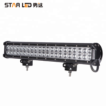Factory wholesale 20 inch double row 126w waterproof spot led car light for 4x4 super working led lamp off road led light bars