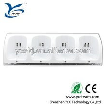 4in1 remote Charger Station for WII,for wii charger station wiith 4 battery,game accessories