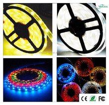 Hot Sale 2015 SMD 335 cuttable led tape light 5M 60LEDS 4.8W warm white color Side Emitting flexible LED Strip Light