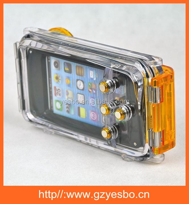 For Apple iPhone 5 5s New Arrival Full Body Protection Waterproof Underwater Diving 40m Housing Case