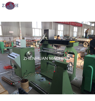 Automatic transformer coil winding machine with wire guider