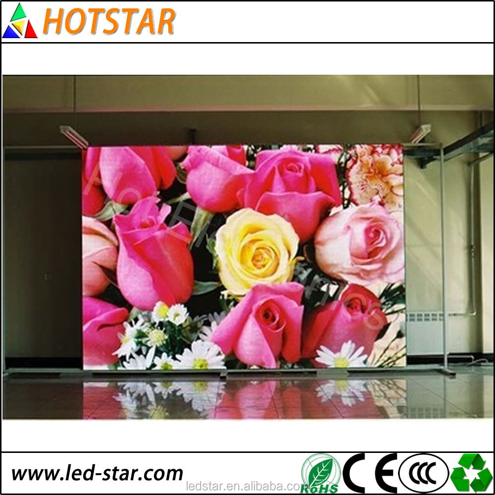HD P4 SMD full color indoor fixed LED display screen