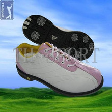 Fashion Design ladies golf leather shoes