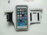 Customized OEM lycra neoprene fabric armband belt case