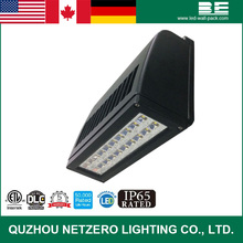 Slim outdoor industrial LED Wall mount Pack lighting fixture