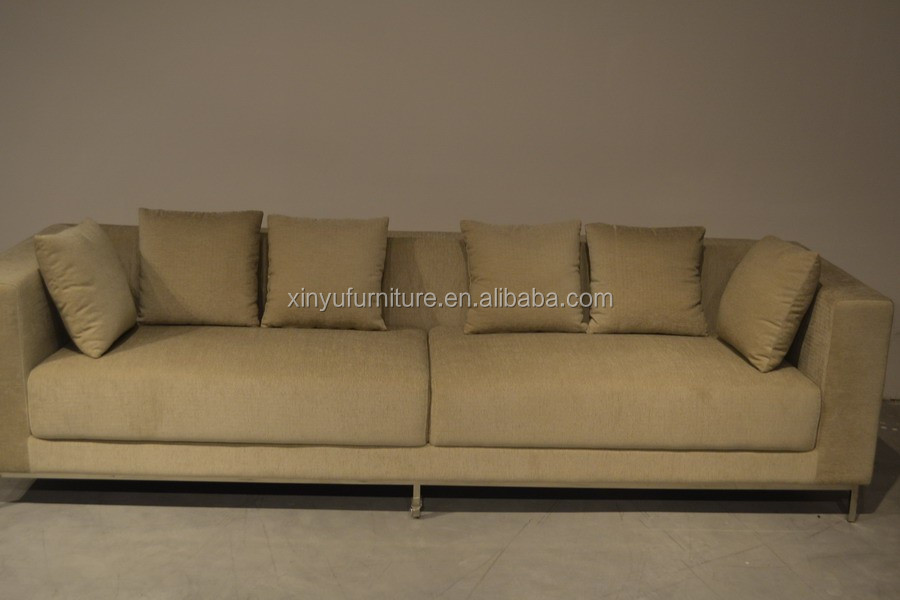 Living room elegant fabric couch XYN4113