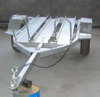 Hot Dipped Galvanized 3 Rails Motorcycle Trailer/Motorbike Trailer