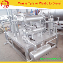 Easy-operate Waste Plastic Pyrolysis Plant Plastic Recycling Machine to Fuel Oil