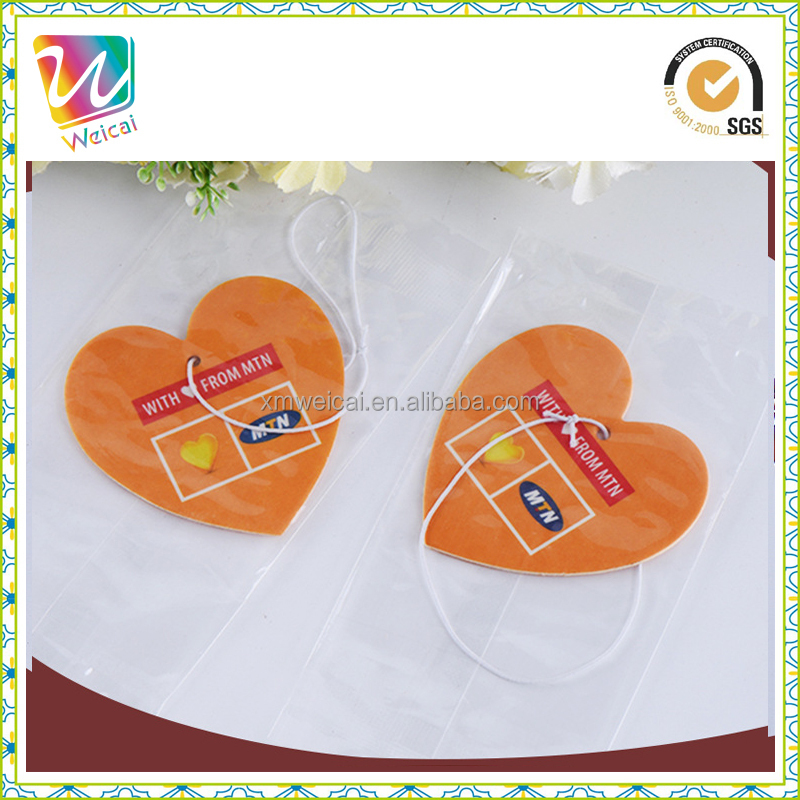 Custom love shape Car Accessories Air Freshener