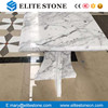 Bianco Carrara White Square Marble Top