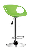 Colorful PP bar stool with cheap price