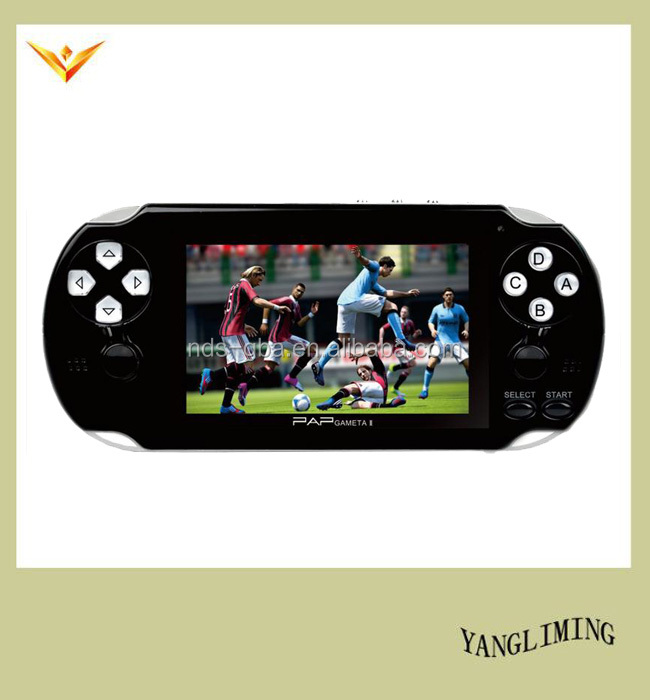 4.1 inch screen 64 bit video game console support wireless handle PAP-GAMATA II small package