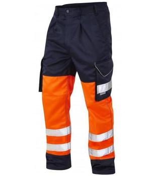 european style cargo hi vis waterproof reflective safety work pants