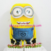 Wholesale 65*92cm big size minion foil helium balloons for toys party supplies