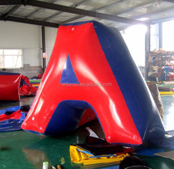 0.6mm or 0.9mm PVC Tarpaulin Inflatable Paintball Bunkers For Sale