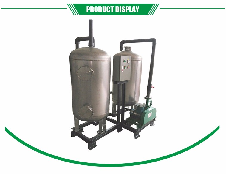 250 and 1000 L industry stainless steel biogas desulfurizer and dehydrator