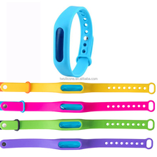 Wholesale silicone mosquito bands/ mosquito wristband repellent bands with deet