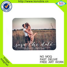 personalize custom wedding printing Fridge magnet
