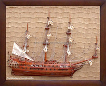 Friesland Half - Ship Wall Decoration