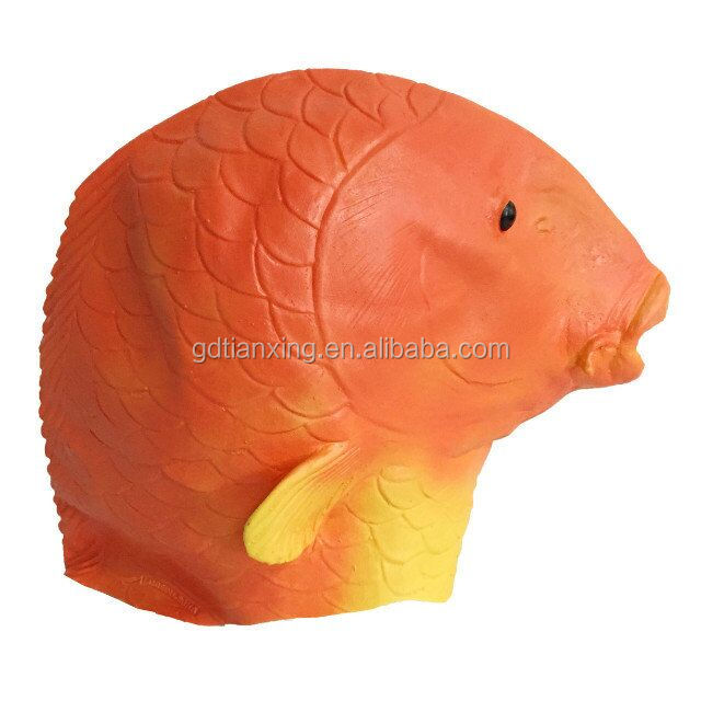 Lucky Animal Fashion Party Goldfish Face Natural Latex Masks