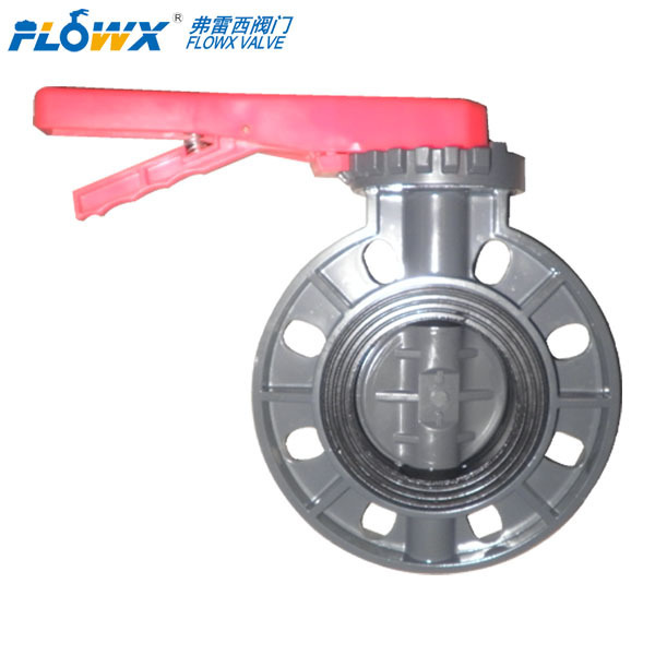 Plastic butterfly valves plastic manual butterfly over water NEW Mini Motorized valve for water treatment
