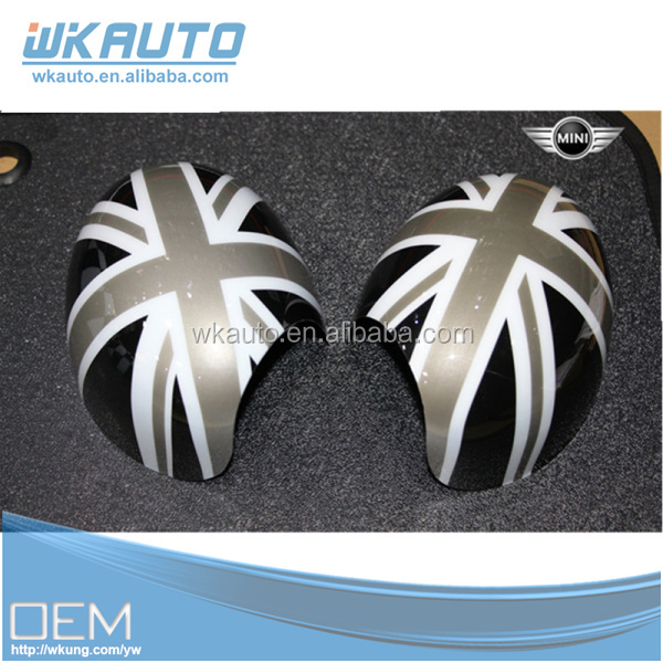 Genuine OEM Black Union Jack Powerfold and manualfold Option MINI Cooper side Mirror Covers