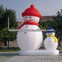 indoor and outdoor christmas inflatable snowman
