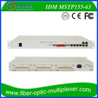 STM-1/STM-4 63e1 sdh mux optical add drop multiplexer