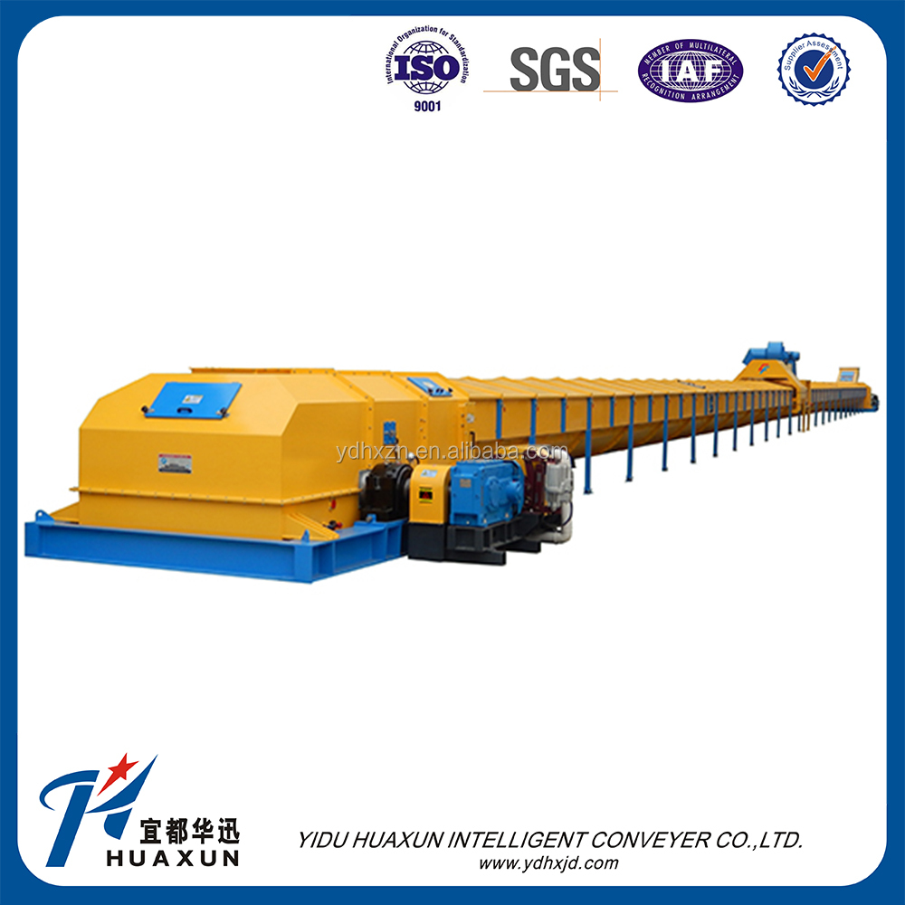 Air cushion industrial conveyor belt for bulk materials
