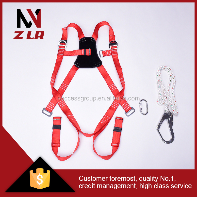 High Quality Safety Belt Full Body Harness with Hook