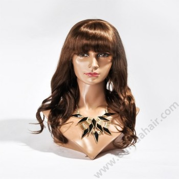 Human hair full lace wigs, 6A grade hot sale human hair wig
