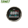 52mm Motorcycle GPS Speedometer Digial with Indicate lights