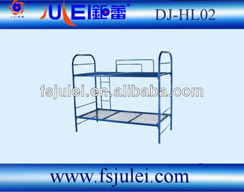 double Strong Support capacity adult metal bunk bed