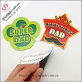 Novelty products for import paper made decorative fridge magnet sheet