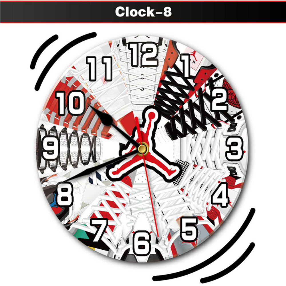 air jordan Infinity Instruments Sofia 12 inch Silent Sweep Wall Clock DS1610-05-8-clock8