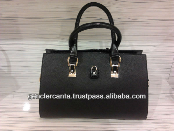 very elegant black ladies bag