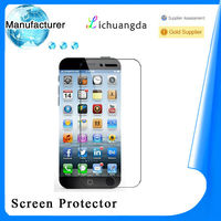 Best price! Premium durable for Samsung galaxy and for iphone4/5/6 tempered glass screen protector for galaxy mega