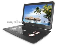 Large Screen 19 Inch Portable DVD Player with bluetooth
