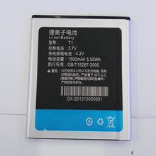 3.7V 1800mAh battery for THL W100 W100S T1 Battery