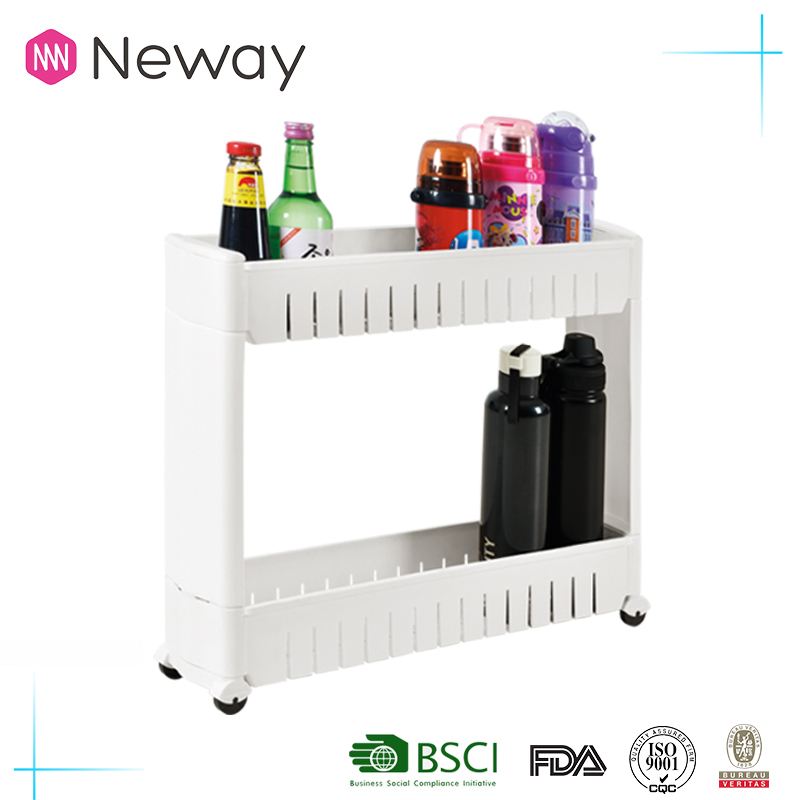 NEWAY High Strength Effective Portable Plastic Storage Rack Kitchen Bottle Holder Bottle Storage Rack