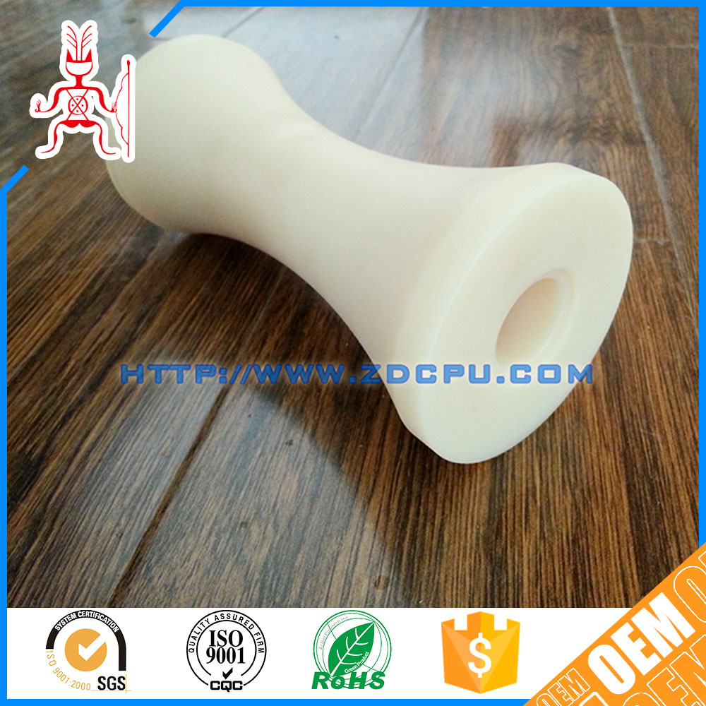 Professional manufacturer molded hard plastic rollers