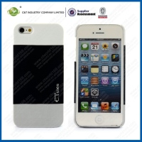 C&T Wholesale price new phone case rubber oil painting hard case for iphone5