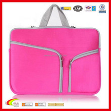 "Soft Neoprene Carry Sleeve Tote Case for Macbook Air 13.3"" and Air 13 with Zipper"