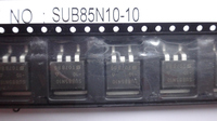 Original New Vishay SUB85N10-10 N-Channel 100-V (D-S) 175 MOSFET Integrated Circuits