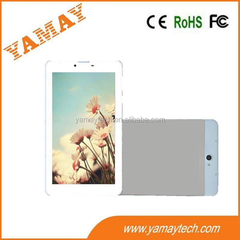 best online shop china 7inch 3g dual core tablet pc with colorful back cover