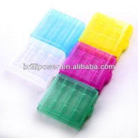 High quality Rechargeable battery holder plastic box battery case